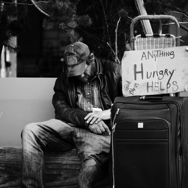 I had several encounters with homeless people in Seattle. I spoke to men who had hit rock bottom with alcoholism and other addictions.